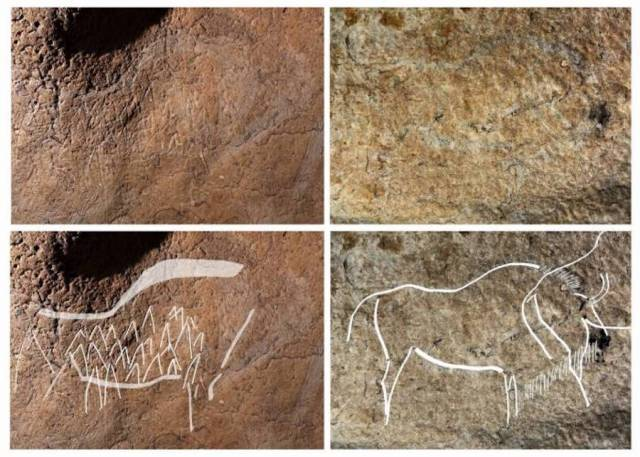 Atxurrako kobako hormetan aurkitutako lanen adibide batzuk.