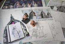 El proceso de trabajo de Fernando Baptista para un reportaje de National Geographic (MARK THIESSEN / NATIONAL GEOGRAPHIC)