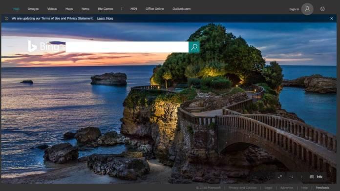 Biarritz en Bing Sudafrica