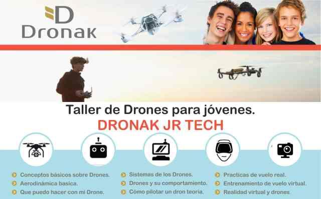 Curso de iniciación a los drones de Dronak