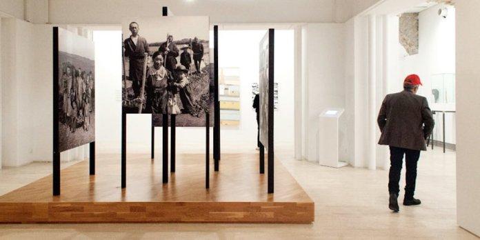 "An exhibition at the Koldo Mitxelena Cultural Center in San Sebastián, Spain, part of the multidisciplinary project ""Peace Treaty."" The city has been designated as a European capital of culture this year. Credit Dani Blanco/San Sebastián 2016 Foundation"