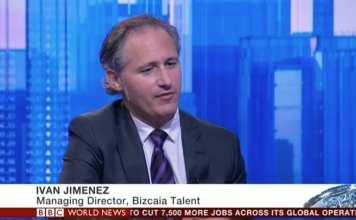 Entrevista en BBC World a Iván Jiménez, Managing Director de bizkaia:talent