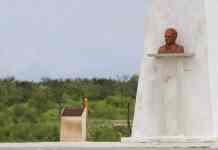 El Monumento a Fleming que el vasco Iribarren le erigió en México (fotografía: Héctor García)