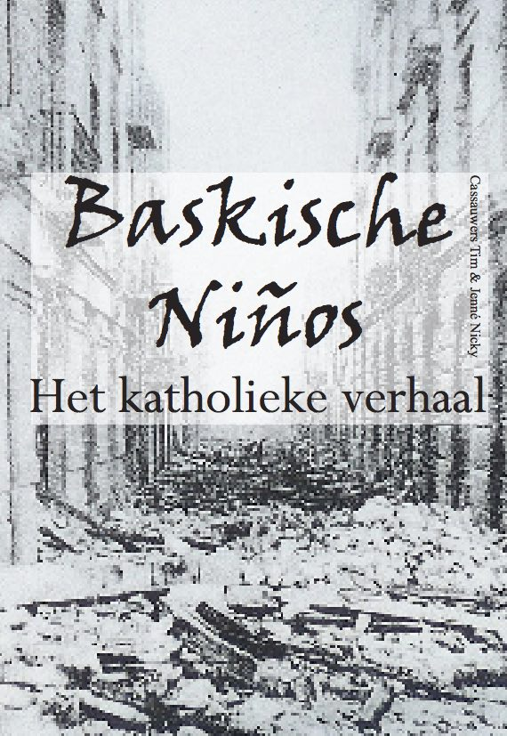 Cover of the thesis on the Basque War Children in several Belgian cities (Download here)