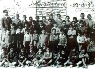 Los niños de la escuela de Agurain. Un ejemplo de la generación que se convertiría en nuestros padres o nuestros abuelos.