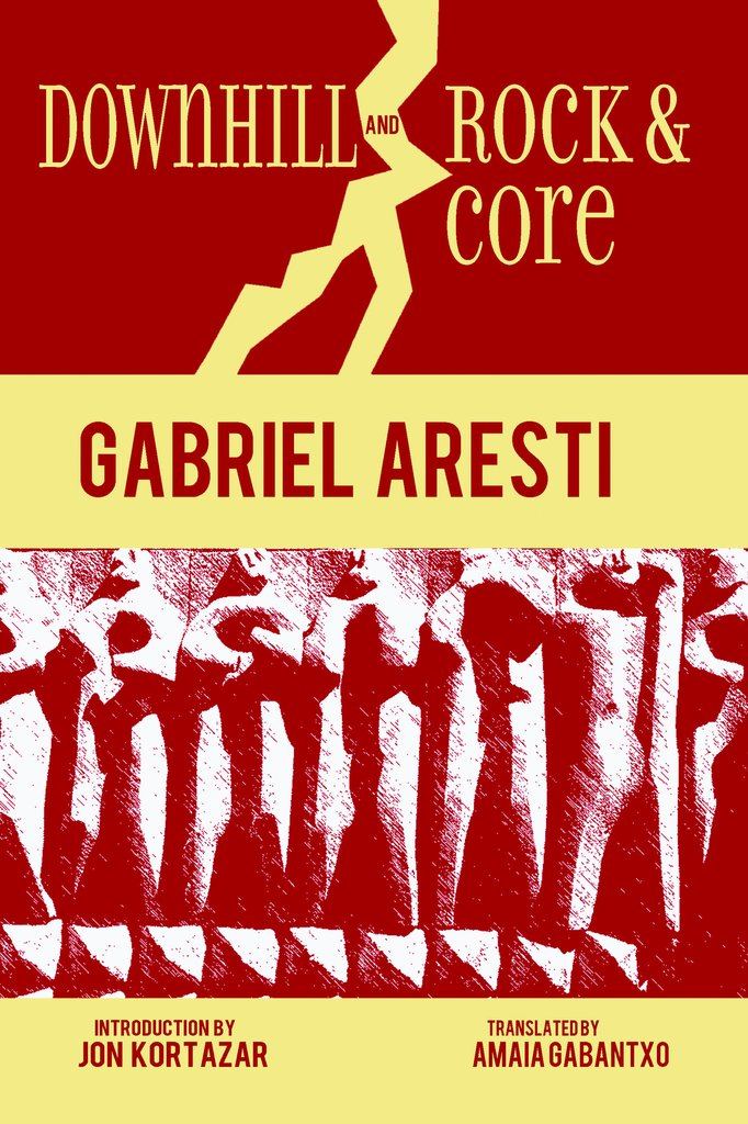 Cover of the book of two collections of Gabriel Aresti's poetry, translated into English