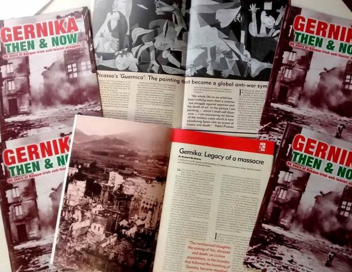 Gernika 80 Then and Now: 80 years of Basque-Irish anti-fascist struggles magazine