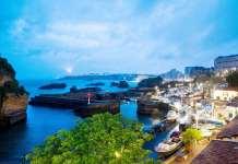 Una vista de Biarritz al atardecer. © Markel Redondo para The New York Times.jpg