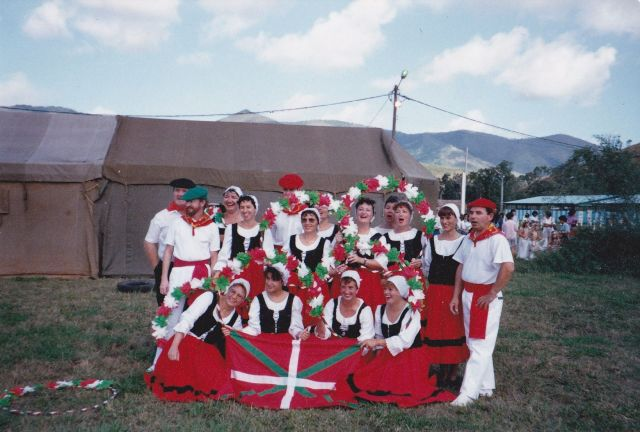 Basques in New Caledonia, celebrating their roots