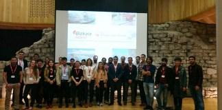 Durante un Be Basque Talent Meeting celebrado durante la tarde del viernes 9 de junio en el Wood Quay Venue (Civic Offices)