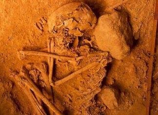 Restos arqueológicos excavados en Portugal, de los cuales los investigadores han extraído ADN (Rui Parreira)