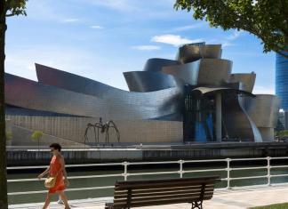 Frank Gehry's Guggenheim Bilbao. Tim Graham