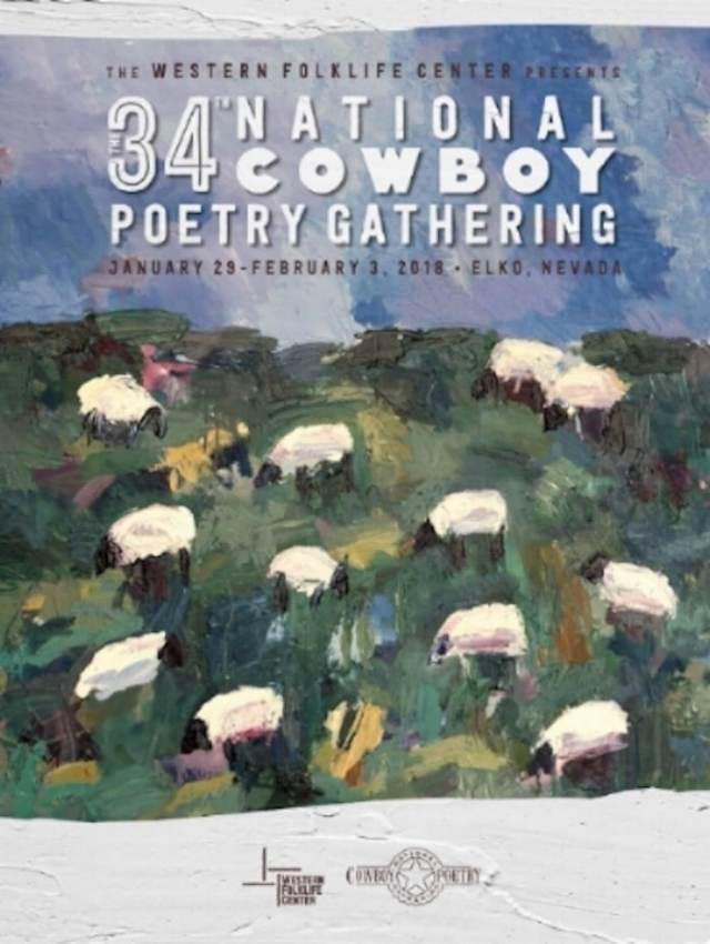"34.National Cowboy Poetry Gathering Kartela (Theodore ""Ted"" Waddell)"