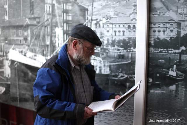 Halvard Nilsen, the Norwegian who lives in Bilbao's Norway