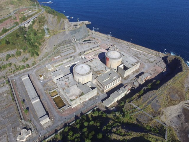 The unfinished nuclear power station in Lemoiz is going to become an aquaculture research center