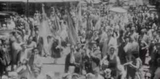 Imágenes de la sexta Semana Vasca de mar del Plata (1954)