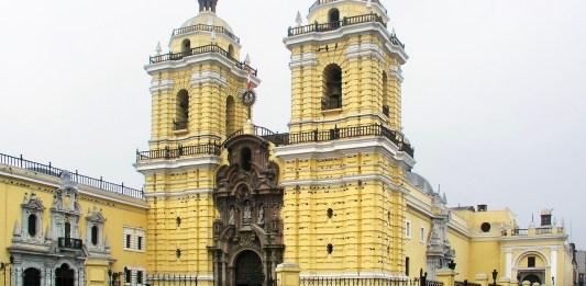 Oglesia de San Franciso de Lima. Donde se encuentra la Capilla y la Boveda de la Hermandad de Arantzazu de Lima