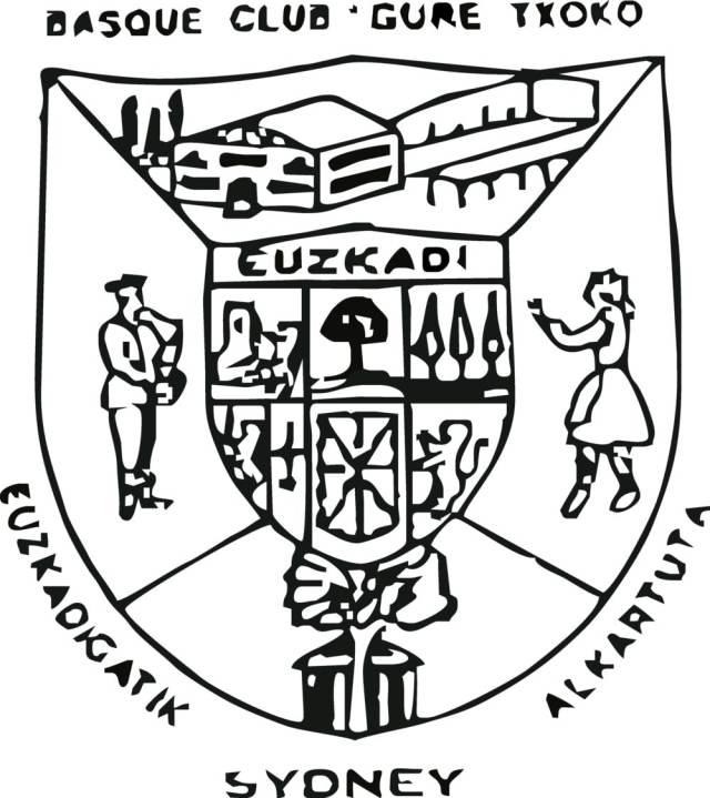 Escudo del Centro Vasco Gure Txoko de Sidney