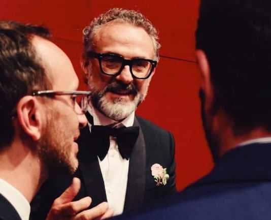 O chef Massimo Bottura foi o grande vencedor da noite.