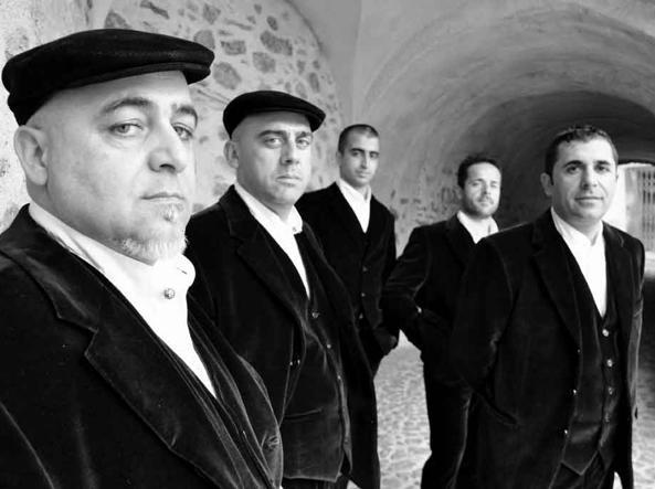 Il gruppo musicale Cuncordu e Tenore de Orosei