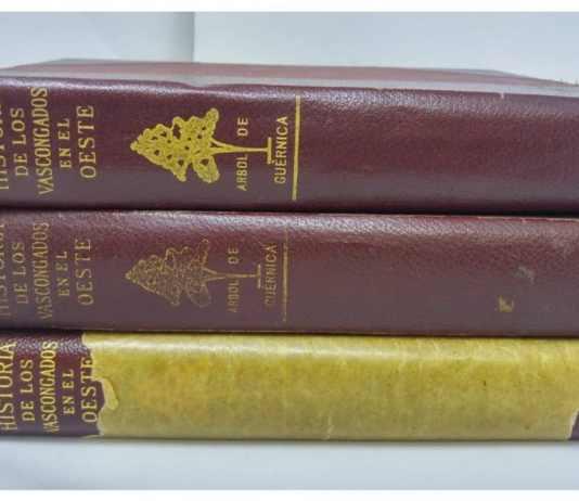 Libro «La historia de los Vascongados en el Oeste» publicado en USA en 917