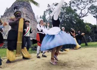 Celebrando Korrika 2019 en Nueva Caledonia