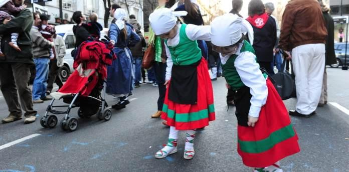Un momento de la celebración anual, Buenos Aires celebra el Pais Vasco 2019