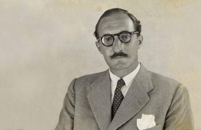 Jose Antonio Agirre disguised as José Andrés Álvarez de la Lastra, Panamanian citizen, to escape from the Nazis