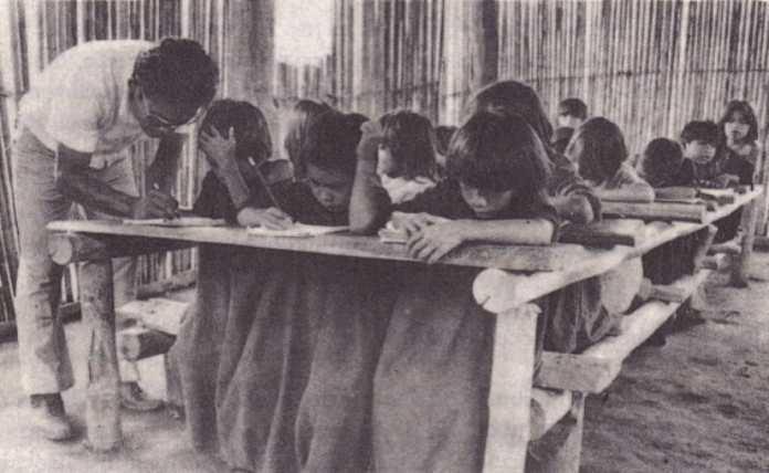 Escuelas misionales en Yurimaguas