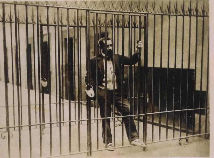 Sabino Arana en la carcel de larrinaga