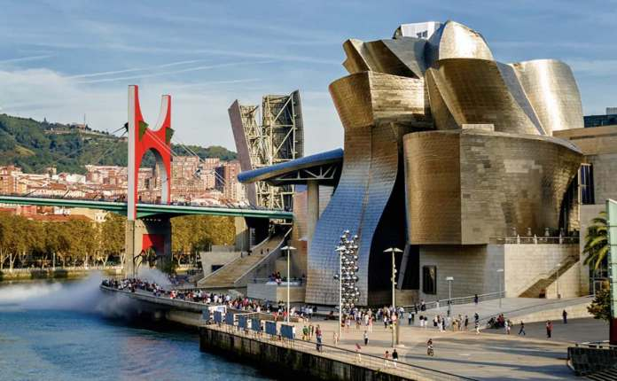 Travellers come to Bilbao for its burgeoning art scene and Basque cuisine CREDIT: COPYRIGHT (C) 2019 ALBERTO POMARES (COPYRIGHT (C) 2019 ALBERTO POMARES (PHOTOGRAPHER) - [NONE]/APOMARES