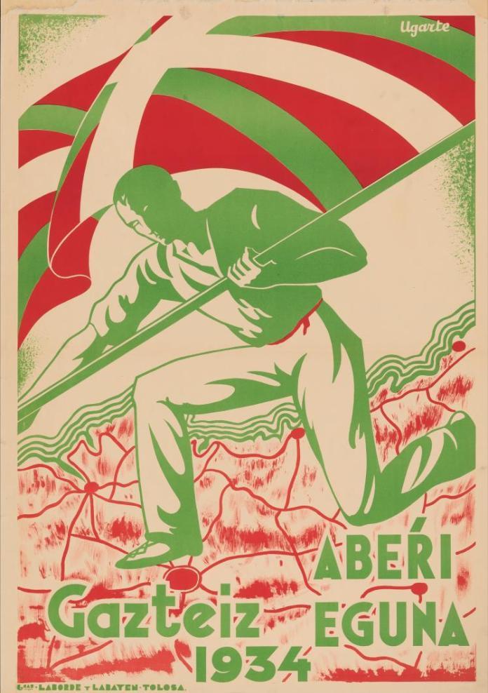 cartel aberri eguna 1934 (Ugarte)