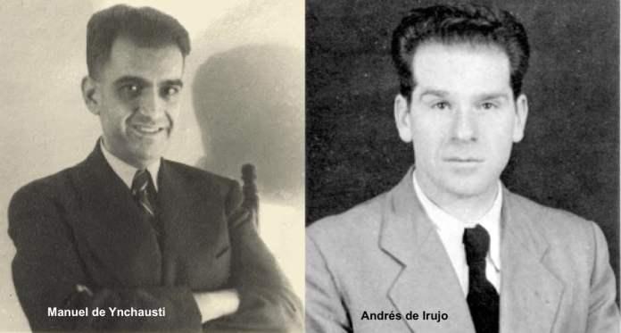 Andres de Irujo y Manuel de Ynchausti