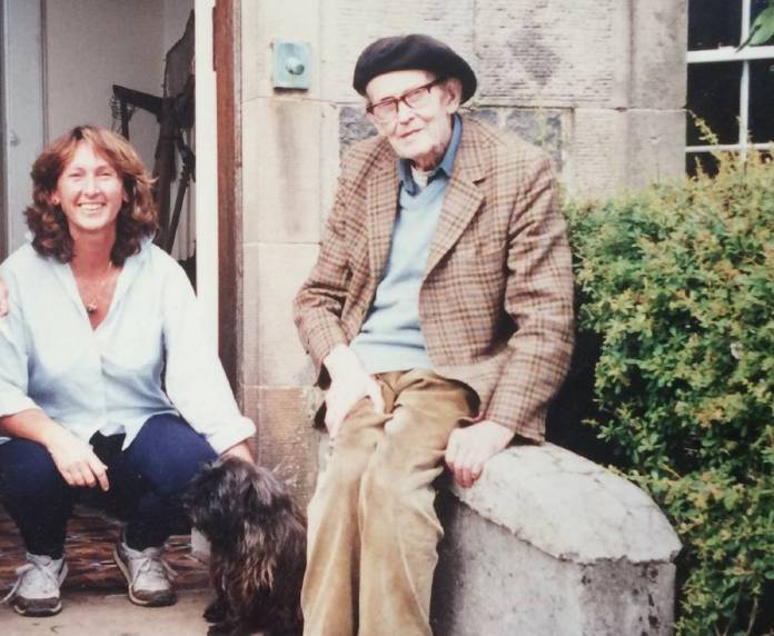 Header photo: Magda Sagarzazu and John Lorne Campbell on the island of Canna