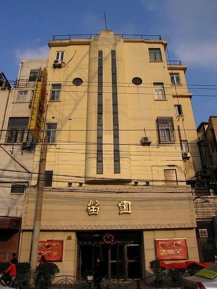 Estado actual del Frontón Auditorium de Shanghai (Foto de meckleychina en Flicker)