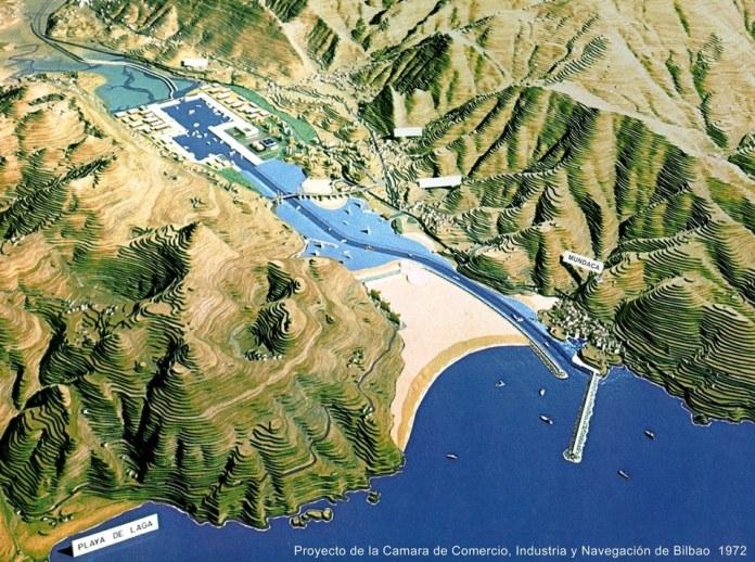 Proyecto para Mundaka para la Ria de Mundaka 1972
