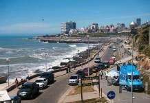 Paseo Jesús de Galíndez en Mar del Plata (Argentina)