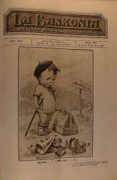 Portada del diario La Baskonia de Buenos Aires de 28 de febrero de 1919 donde se recoge la crónica de la plantación del retoño del Arbol de Gernika en Montevideo
