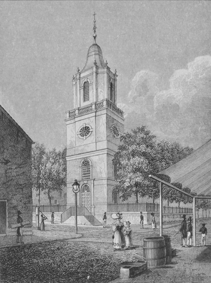 Iglesia Católica de San Pedro - Barclay Street - New York City