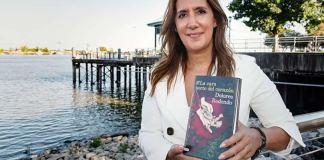Dolores Redondo con su novela La Cara Norte del Corazón