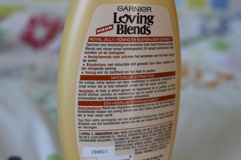 'Loving Blends Honing Goud' by Garnier