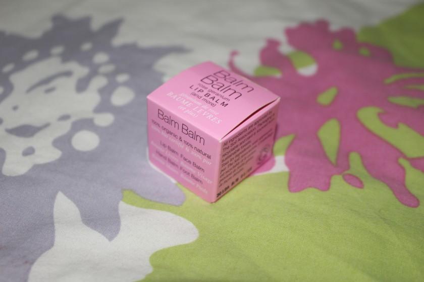 BalmBalm Rose Geranium Lip Balm