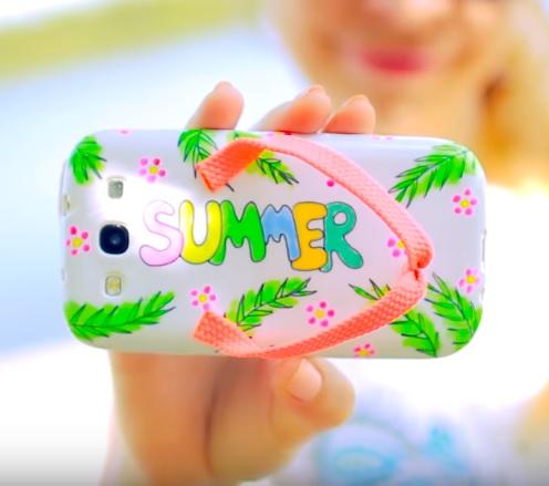 DIY: 5x Summer phone cases