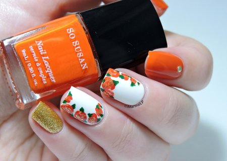 Koningsdag 2017 nail-art