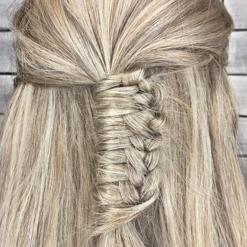 Chinese staircase braids