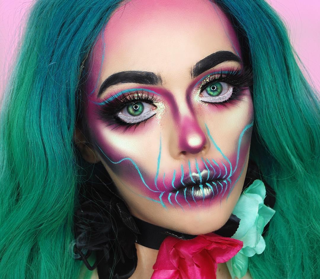 Halloween Masker Make-up