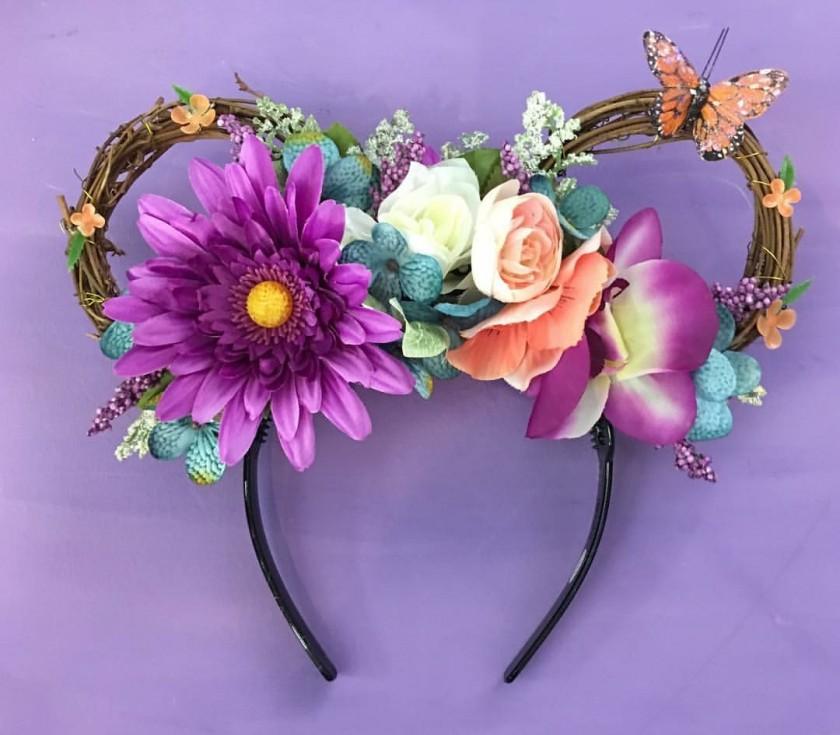 Full Floral Ears Disney FloofyArts