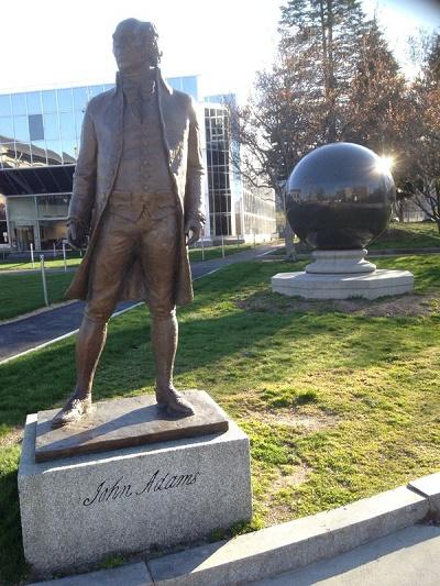 John Adams tour site