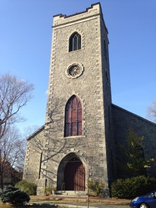 an old church in NE