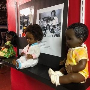 Three Black Doll boys